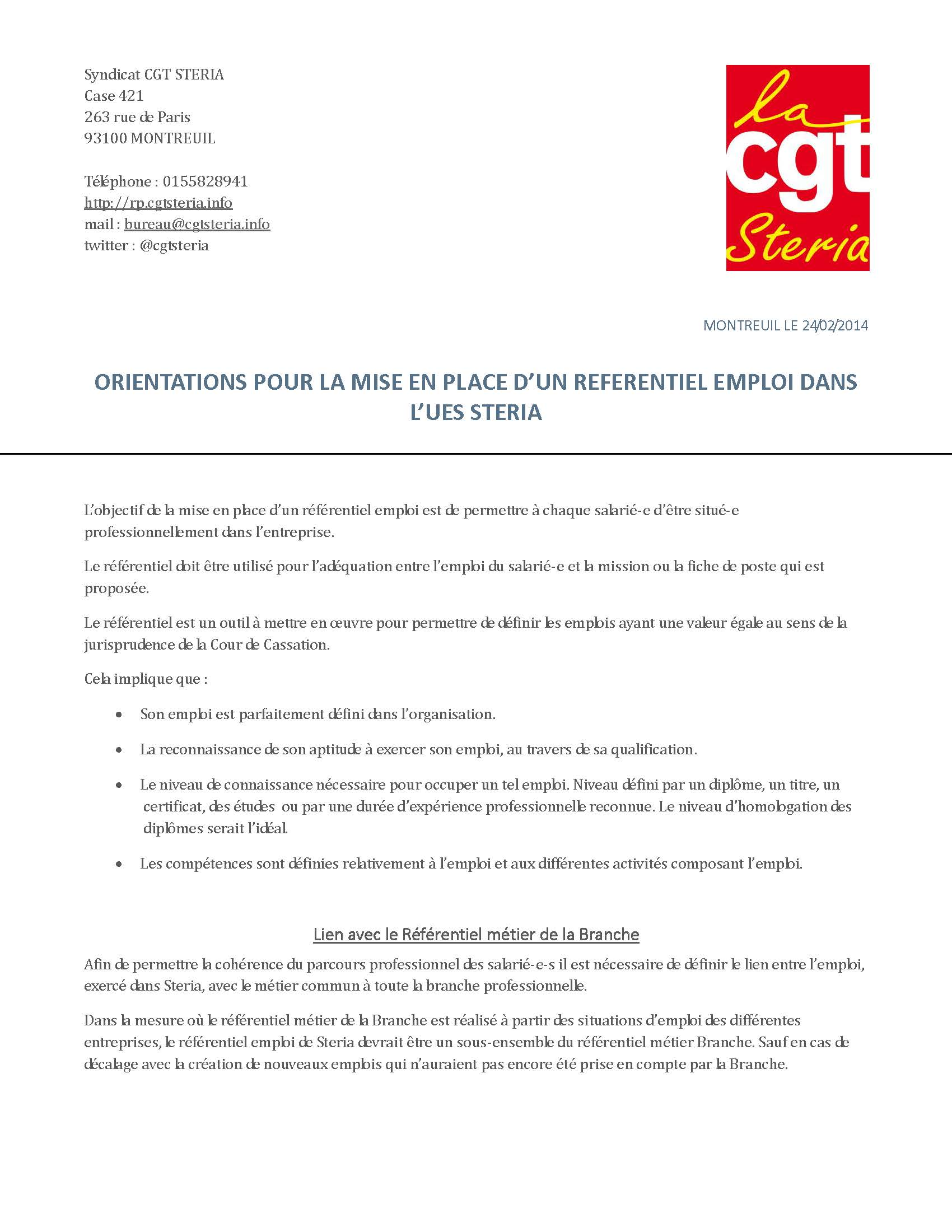 CGT-Document d'Orientation referentiel emploi version 1 1